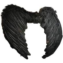 Macallen Ailes en plumes Noir 43cm