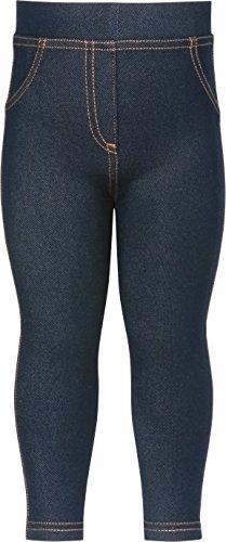 Playshoes Mädchen Legging Coole Baby Jeans Optik, Oeko-Tex Standard 100, Gr. 74 (Herstellergröße: 74/80), Blau (original 900)