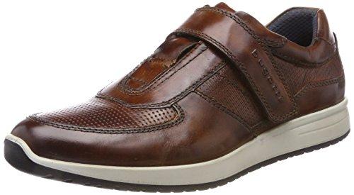Bugatti Herren 311385611100 Sneaker, Braun (Cognac), 45 EU (Herren Schuhe Klett)