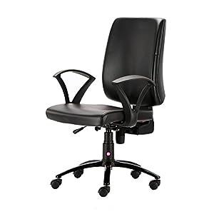 HOF Stainless Steel Computer Student Chair (3003, Black)
