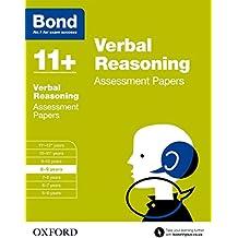 Bond 11+: Verbal Reasoning Assessment Papers: 8-9 years