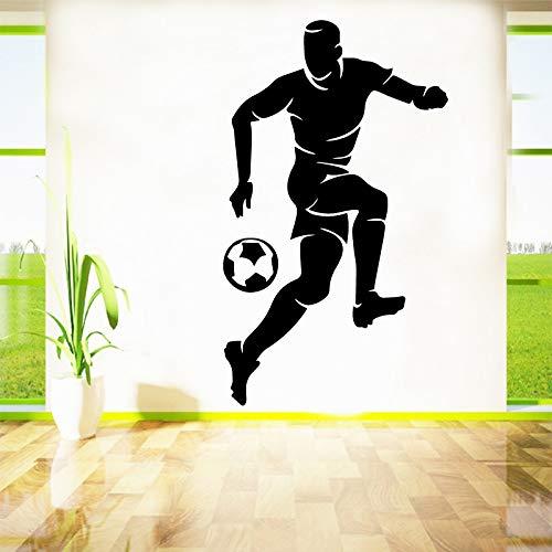 Diy fußball wasserdicht wandaufkleber wohnkultur für wohnkultur wohnzimmer schlafzimmer hintergrund wandkunst aufkleber andere farben m 30 cm x 51 cm -