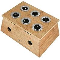 Glield Moxa Box Moxibustion Box für 6 Moxa-Zigarren AJG01 preisvergleich bei billige-tabletten.eu