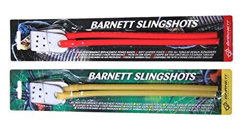 Barnett Natural Power Band schwarz Widow Cobra Diablo Strike 9Katapult Slingshot Gummi Elastic gelb -