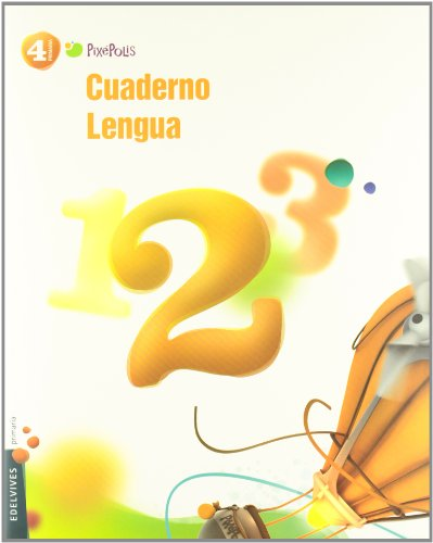 Cuaderno 2 de Lengua 4º Primaria (Pixepolis) - 9788426383228