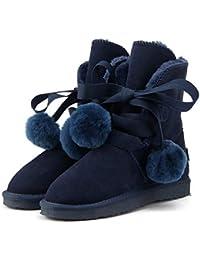 XMDNYE Zapatos De Invierno De Gran Tamaño para Señora Warm Warm Snow Boots Boots, 40
