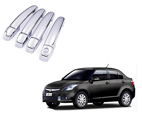 Auto Pearl - Premium Quality Chrome Door Handle Cover For - Maruti Suzuki Swift Dzire Type-4  available at amazon for Rs.699