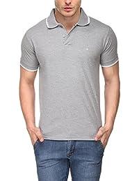 [Sponsored]Scott Young Men's Premium Cotton Polo T-shirt - Grey