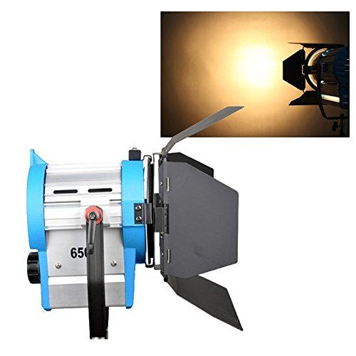 650W Film Fresnel Wolfram-Punktlicht-Beleuchtung Studio Video Barndoor Dimmer Fokus als arri (Arri Dimmer)