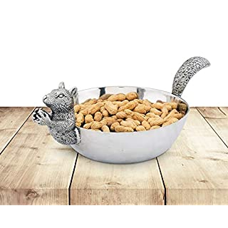 Arthur Court Nut Bowl, Squirrel Head and Tail by Arthur Court Designs
