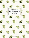 Weekly Planner 2019: This avocado planner has weekly views with to-do lists, inspirational quotes and funny holidays, the perfect organizer with vision boards and more.