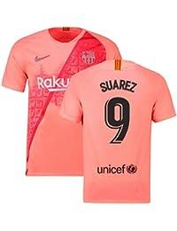 2018-2019 Barcelona Third Nike Football Soccer T-Shirt Camiseta (Luis Suarez 9