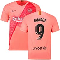 2018-2019 Barcelona Third Nike Football Soccer T-Shirt Camiseta (Luis Suarez 9
