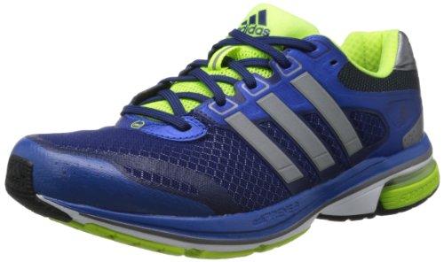 adidas Supernova Glide 5 m G97321, Herren Laufschuhe, Blau (Blue Beauty F10 / Metallic Silver / Electricity), EU 44 (UK 9.5)