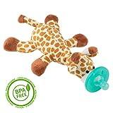Giraffe-Schmusetier Schnuller, Baby Silikon-Sauger Schnuller BPA Frei, Tier Softes Kuscheltier, Plüschtier (Giraffe)