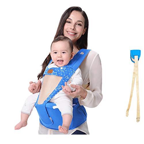 Courroie de Tabouret de Taille pour bébé Banc d'absorption de Chocs détachable Multifonctionnel Convient pour l'été ( Color : A )