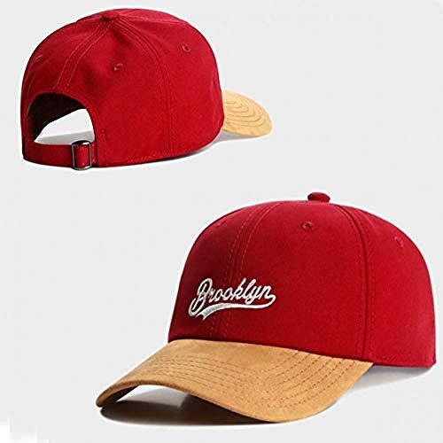 DWcamellia Hut Snack Pink Hat Männliche Dame Adult Hip Hop Headwear Freizeit im Freien Sun Baseball Cap , 8