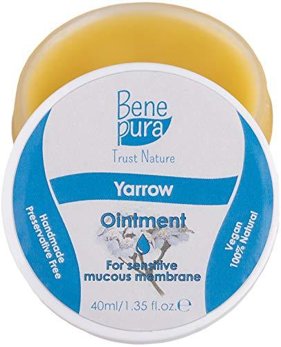 Pommade Yarrow naturelle blanche 40 ml - Contre les hémorroïdes, stabilise les parois du vaisseau...