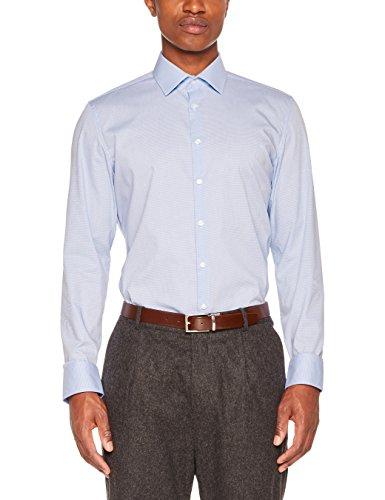 Seidensticker Herren Business Hemd Slim Fit – Bügelfreies