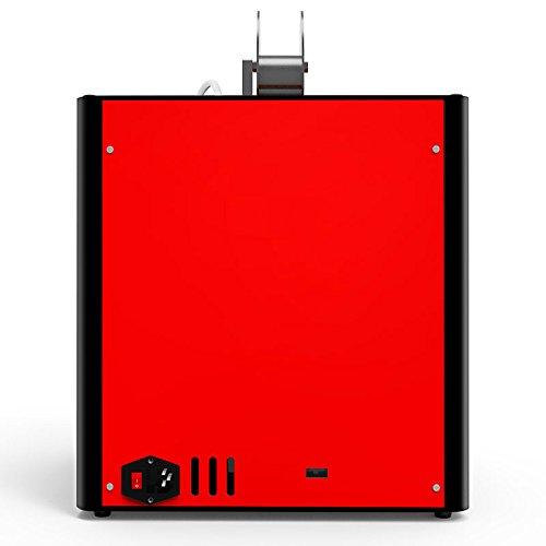 Hohe Präzision Gebaut 3D Drucker Metallrahmen Desktop 3D-Maschine, Unterstützung Multi-Filament FDM Professional 3D Drucker, maximale Druckgröße: 210 * 210 * 210mm (Rote) - 5