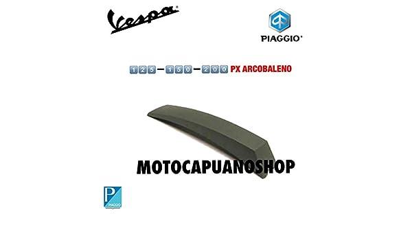 PROFILO BORDO SCUDO PLASTICA GRIGIO METALLIZZATO VESPA PX 125 150 200 PE