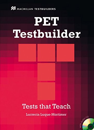 PET Testbuilder: Libro con Audio-CD
