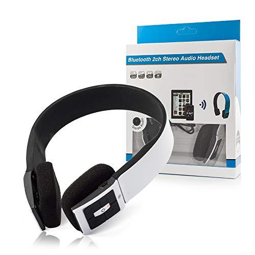 OZZZO Kopfhörer Sound 3D Bluetooth mit Mikrofon weiß alcatel one Touch s pop