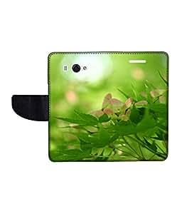 KolorEdge Printed Flip Cover For Redmi Xiaomi MI 2S Multicolor - (45KeMLogo10559XiaomiMi2S)