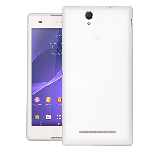 Dr Chen Slim Case For Sony Xperia C3 Dual Back Cover (White)  available at amazon for Rs.199