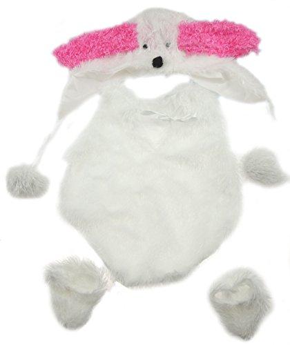 �Monate Plüsch weiß & pink Bunny Kaninchen Fotografie Prop beinhaltet Hat Lange Ohren (Fotografie Prop Ideen)