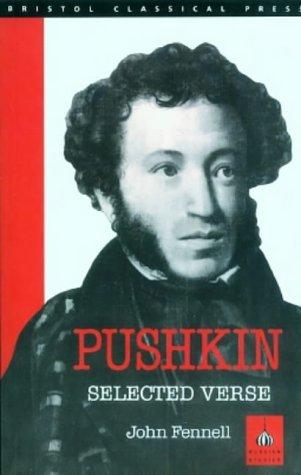 Portada del libro Pushkin: Selected Verse by A. S. Pushkin (2013-04-01)