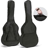 Ortola 6640-001 - Funda guitarra 1/4 mochila sin logo, color negro