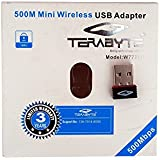 Terabyte Wireless Network USB Adapter (Black)