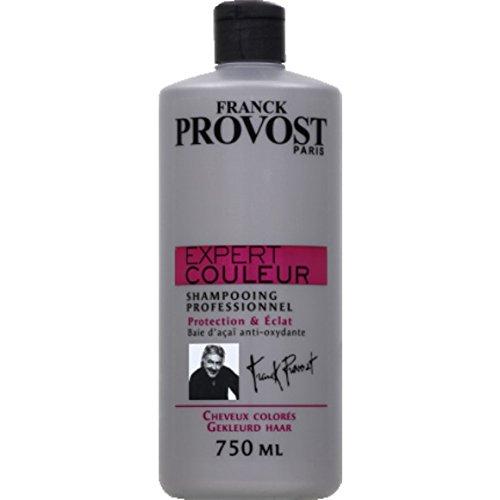 Franck Provost - Shampooing professionnel, protection & éclat, cheveux colorés - Le flacon de 750ml - (pour la quantité plus que 1 nous vous remboursons le port supplémentaire)