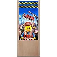 Lámpara de mesa de madera Lego Movie