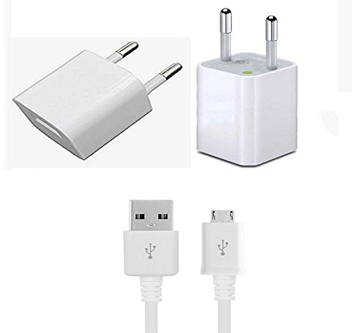 Adcom Kit Kat A54 supported Wall Charger,Travel Charger ,Mobile Charger,Single Port USB India Plug Wall Charger Adapter With 1 Meter Micro USB Cable By Sublicart,2 Amp,White,With 1 Usb Cable  available at amazon for Rs.279