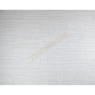 Patent Decor 3D Tapete in weiß (zum Überstreichen) (Nr. 6009-4433)