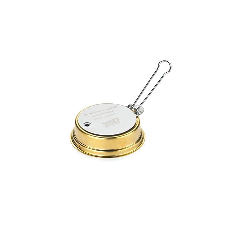 Esbit Men's Alcohol Burner, Gold, 70ML