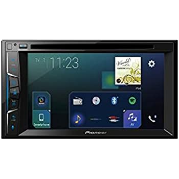 pioneer avh z2000bt 2 din 6 2 inch clear type touchscreen. Black Bedroom Furniture Sets. Home Design Ideas