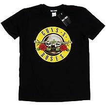 Guns N Roses niños Bullet Logo Camiseta