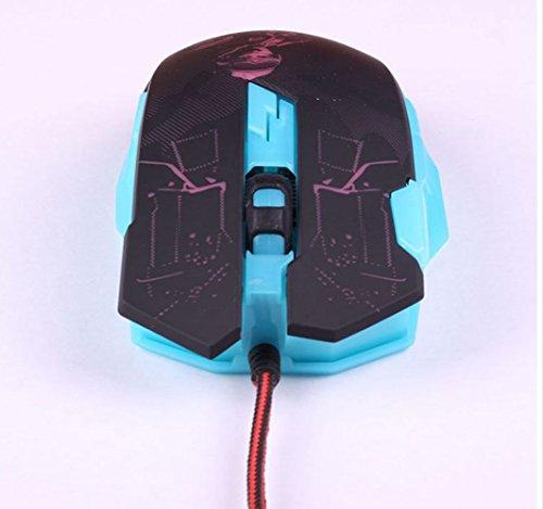 Wired Gaming Mouse Makro Programmierung USB Gaming Desktop-Rechner LOL Schwerpunkt CF