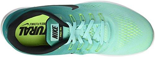 Nike Free RN, Entraînement de Course Homme Multicolore (Hyper Turq/Black/Rio Teal/Volt/White)