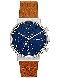 (Renewed) Skagen Analog Blue Dial Men's Watch - SKW6358