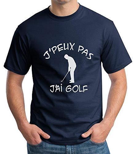 T-Shirt Humour. J'peux Pas J'Ai Golf. Tee-Shirt Homme...