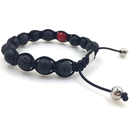 Fashion Lava- Onyx- Armband