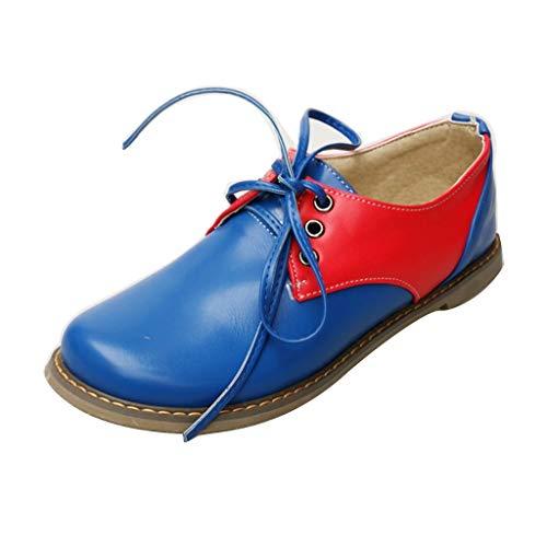 EERTX - ☀Damen Vintage Flats Schuhe☀, Flache Schuhe in großen Größen Solide Lässig Slip-On Arbeitsschuhe Mode Wild Freizeitschuhe