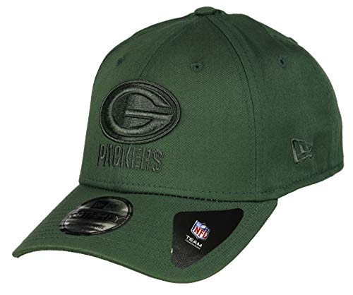 New Era Green Bay Packers 39thirty Stretch Cap Team Tonal Green - XS-S