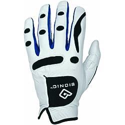 Bionic Performance Series - Guante de golf para hombre, color blanco (white) - M / L