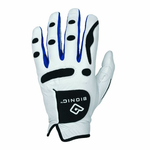 BIONIC PerformanceGrip - Golf-Handschuh für Herren Weiß Weiß weiß Medium/Large