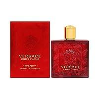 Versace Eros Flame by Versace for Men - Eau de Parfum, 100ml
